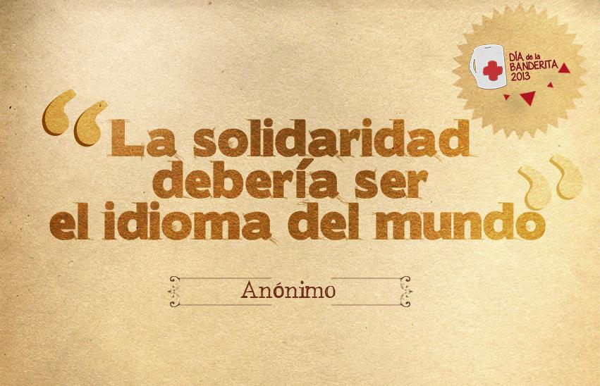 Frases De Solidaridad 51 Frases