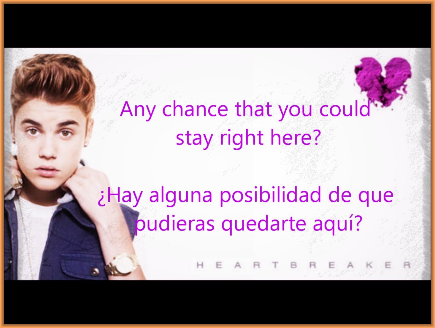 Every Great Frases De Justin Bieber Ingles Espanol Picture On The